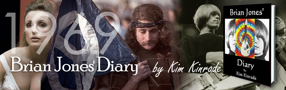 Brian Jones Diary - Novel by Kim Kinrade